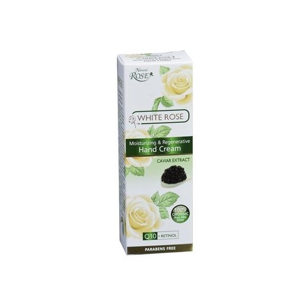 """Hands cream """"Organic white rose water & Caviar"""", 75ml (COD 204)"""