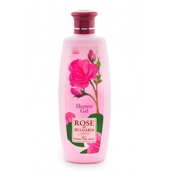 """Shower gel for women with rose water """"Rose of Bulgaria"""", 330ml (COD 106001)"""